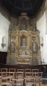 Eglise Saint Martin de Wormhout retable nord