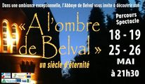 Spectacle Nocturne à l'Abbaye de Belval – 18/19/25/26 mai2018