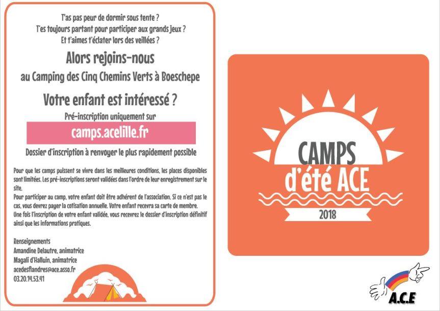 Camps ACE été 2018 page 1