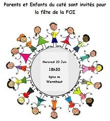 Fête de la Foi pour les catés de la paroisse St WINOC St FOLQUIN de l'HOUTLAND