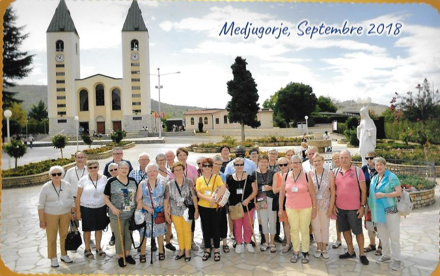 Photo groupe Medjugorje